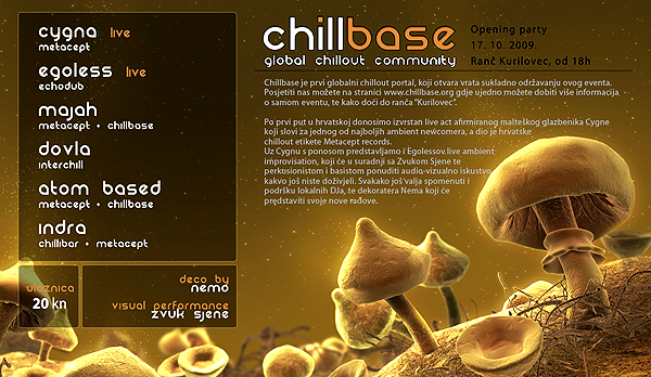 chillbase open party