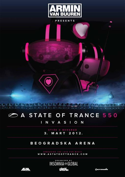 A State Of Trance 550 Beograd