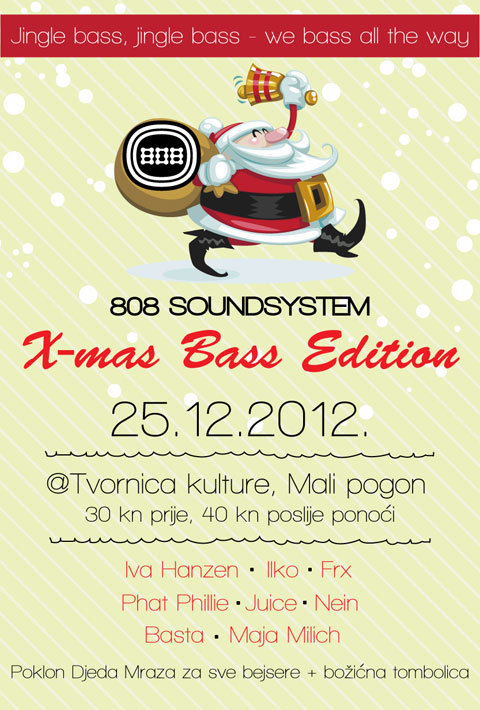 Radio 808 Soundsystem X-mas Bass Edition