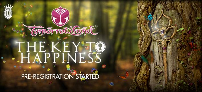 tomorrowland - key to happiness