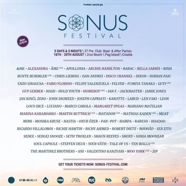 Sonus line up