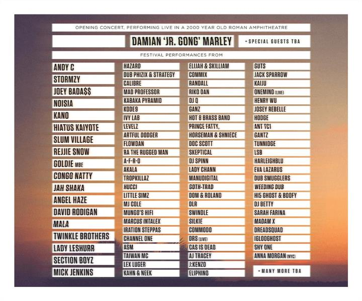 Outlook 2016 line up